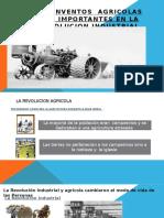 INVENTOS AGRICOLAS DE LA REVOLUCION INDustrial