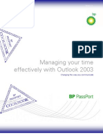 Managing Your Time With Outlook 2003