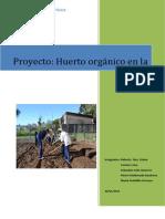 proyecto de ecologia 2015 huerto escolar