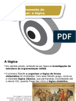 INSTRUMENTOS DO PENSAR - A LÓGICA