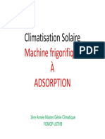 Clim Et Froid Solaire Adsorption for Students 2017-2018