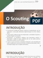 O Scouting - Organização de um departamento (1)