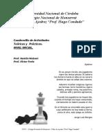 Cuadernillo Ajedrez Nivel Inicial