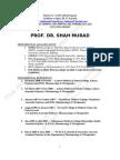 CV of PROF DR SHAH MURAD MASTOI