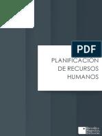 PLANIFICIACION DE RECURSOS HUMANOS