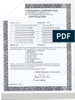 certifications ac coil