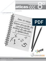 Matemáticas - Educarchile 8° básico - unidad 5