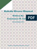 kaledo-manual-summer-2011