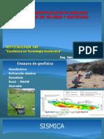 GEOFISICA EN ESTABILIDAD DE TALUDES