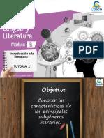 INTRODUCCIÓN A LA LITERATURA