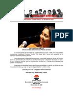 24mar2020 - Comité Central - Ante El Sensible Fallecimiento de Patricia Carmona