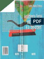 Assistencia social entre a ordem e a des-ordem -  Selma Maria Schons.pdf