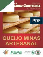 Caderno Queijo Minas Artesanal CRMV-MG