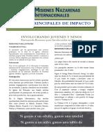 6 AREAS DE IMPACTO - JOVENES Y NINOS