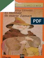 El mensaje de Maese Zamaor - Pilar Molina Llorente