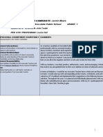 practicum self-evaluation  ped 3151  - jasmin meere