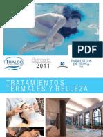 Folleto termal Balneario de Paracuellos 2011