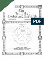 Journal of Borderland Research Vol XLVI No 6 November December 1990