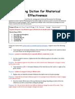 Analyzing Diction for Rhetorical Effectiveness.docx