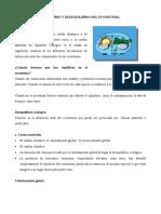 EQUILIBRIO Y DESEQUILIBRIO DEL ECOSISTEMA c