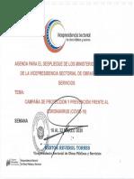 AGENDA DE LA VPSOPS CORONAVIRUS COVID-19