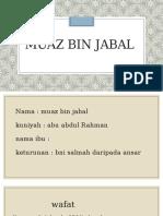 Muaz bin jabal