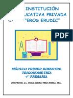 MODULO I PRIMARIA TRIG 4° 2020