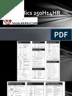 Warrior 250H14HR-H01.pptx