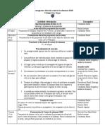 Cronograma elección centro de alumnos 2018