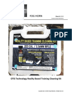 OTIS Technology Reality Based Training Cleaning Kit