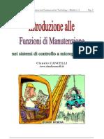 Introduzione alle Funzioni di Manutenzione