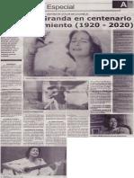 Chabuca Granda en centenario de su nacimiento (1920-2020)