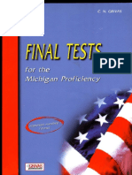 Final Tests for the Michigan Proficiency - C.N. Grivas