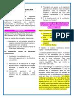 ANESTESIOLOGIA. 2. INSUFICIENCIA RESPIRATORIA