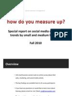 Hearsay Social Media Survey Results