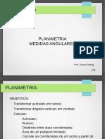 Aula 2 Planimetria e Medidas angulares