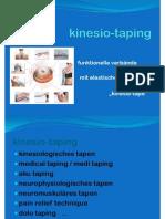 5.Kinesio-tape Basiskurs German