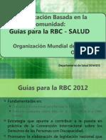 2. Componente Salud - Guías para la RBC OMS_2012 (1)