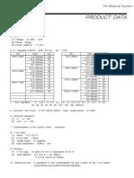 Spesifikasi Produk DK Mobile X-Ray System (ELMO-T3)