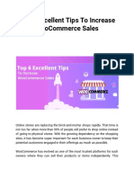 Top 6 Excellent Tips to Increase WooCommerce Sales