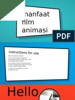 Manfaat Film Animasi