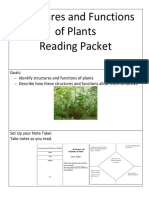 Science Structures and Functions of Plants