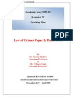 TP_Law Of Crimes Paper IPenal Code_December'19-April'20