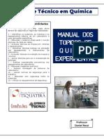 1 Técnicas de Química Experimental Manual de Tqe 2014 v1