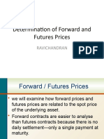 02. Determination of Forward and Futures