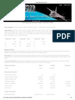 ASM Material Data Sheet
