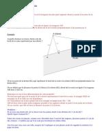 6e cours ch différentes positions de droites - III - distance d'un point à une droite