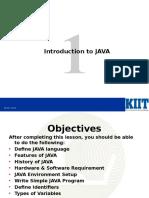Java Programming Lesson 1