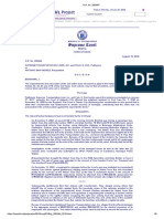 8. Supreme Transportation Liner Inc and Felix Ruz vs. Antonio San Andres G.R. No. 200444