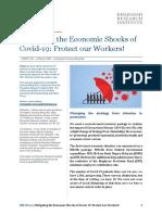 Mitigating the Economic Shocks of Covid-19